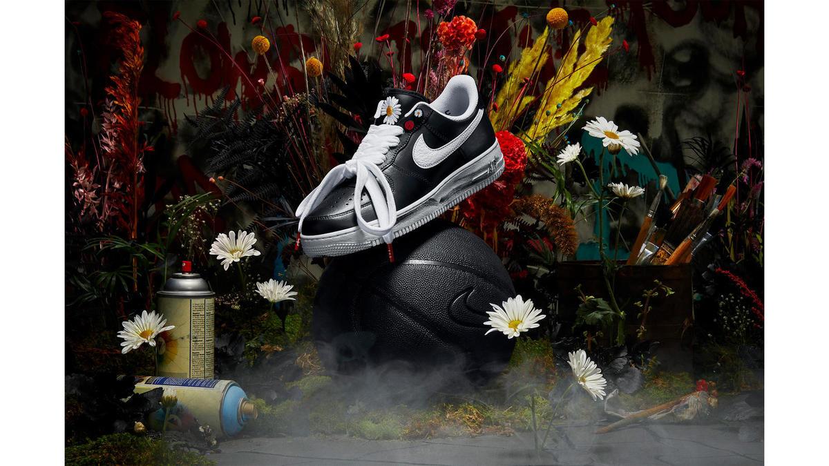 """Nike x PEACEMINUSONE Air Force 1 """"Para-Noise"""""""