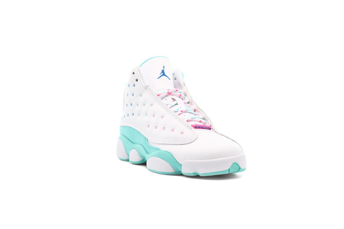 Air Jordan 13 Retro Gs Aurora Green 439358 100 Afew Store
