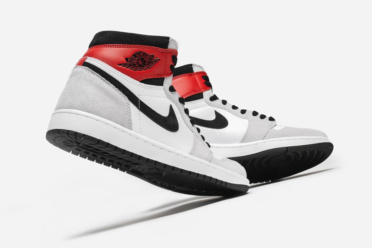 Air Jordan 1 Retro High Og Light Smoke Grey 555088 126 Afew
