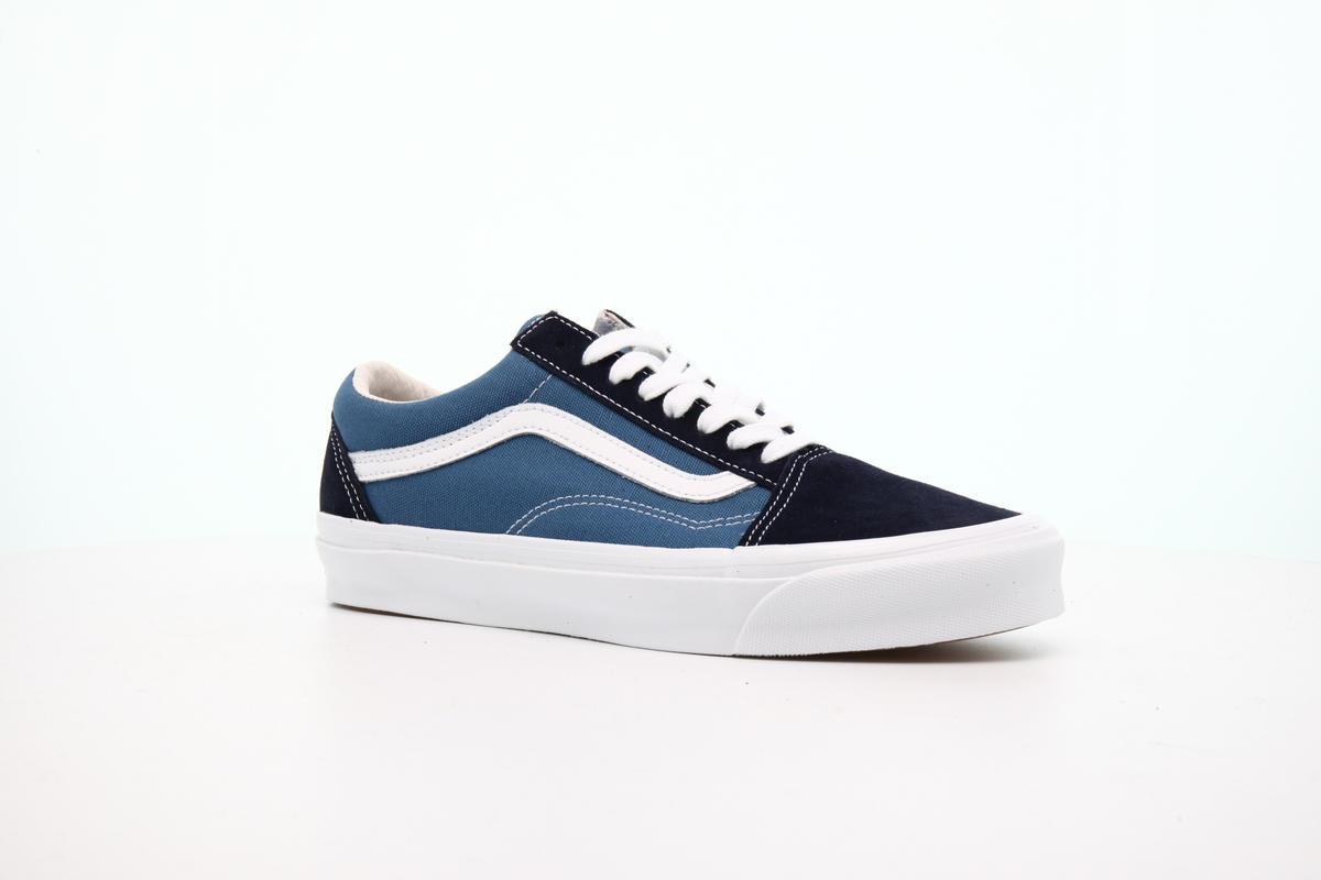 Vans Old Skool Navy Blue Skate Shoe SIZE 8 40.5 | eBay