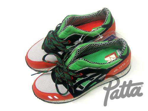 PATTA x ASICS GEL-LYTE III