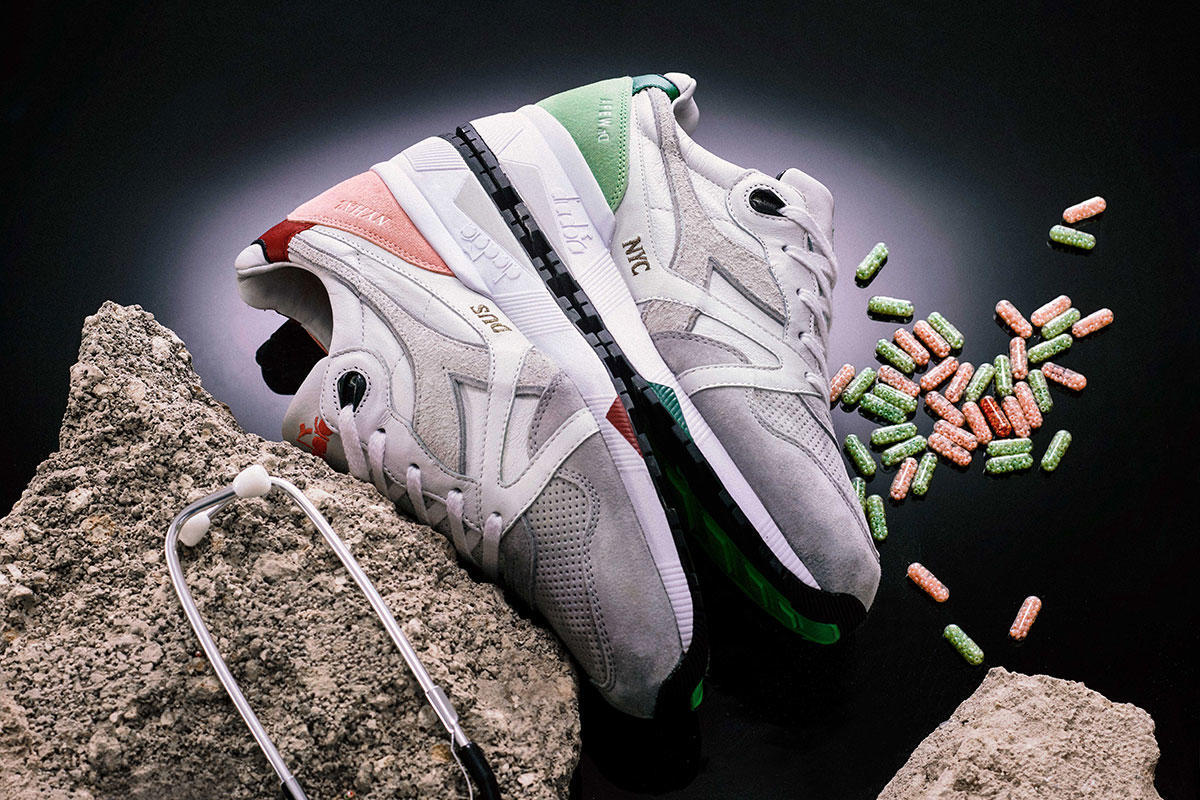 "AFEW x Diadora N9002 ""Master Formula"" & N9000 ""Highly Addictive NYC"""