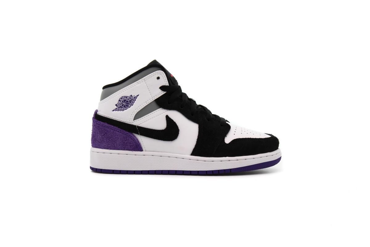 air jordan 1 mid se purple