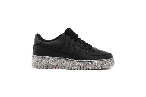 Sneaker Nike Nike AIR FORCE 1  KSA (GS) #quot#BLACK#quot#