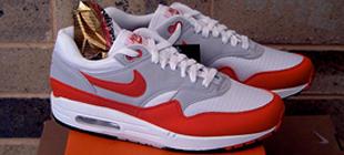 Nike Air Max 1 Fuse 'Matte SilverWhite University Red